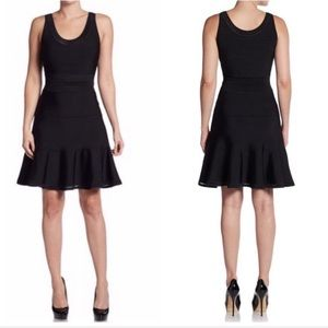 New Diane von Furstenberg Perry Flared Knit Dress